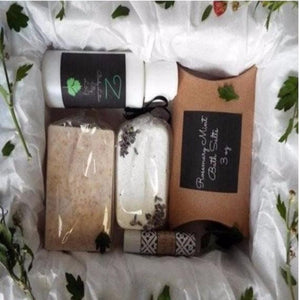 Bath and Body Relaxation Gift  BOX D - L&G Gifts and Goodies