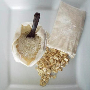 Honey Oatmeal Bath Salt Set - L&G Gifts and Goodies
