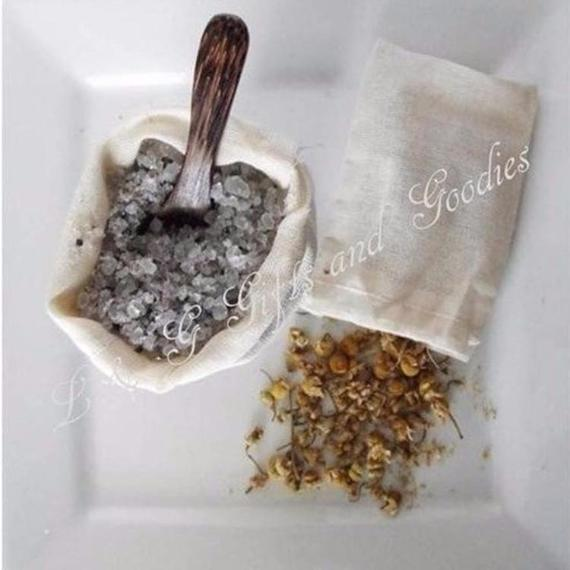 Deep Soak Chamomile Bath Salt Set - L&G Gifts and Goodies