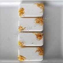 Bath Fizzy Gift Set of 4 Natural Organic Exclusive Skin Care-Magnolia Bath Fizzy Bars - L&G Gifts and Goodies