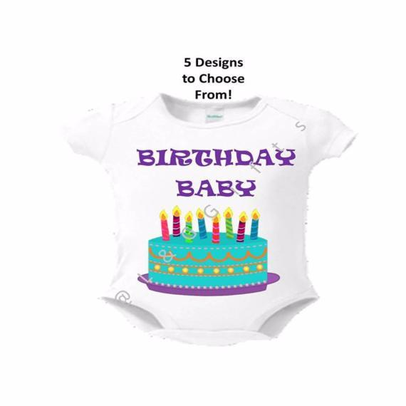 Birthday Baby Bodysuit - L&G Gifts and Goodies