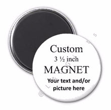Button Pins, Coasters, Mirrors, Magnets Round 3 1/2 Inch - L&G Gifts and Goodies