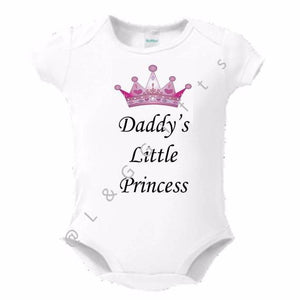 Daddy's little princess Baby Bodysuit Toddler Tee - L&G Gifts and Goodies