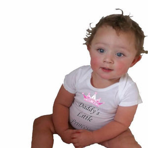 Daddy's little princess Bodysuit or Toddler Tee - L&G Gifts and Goodies