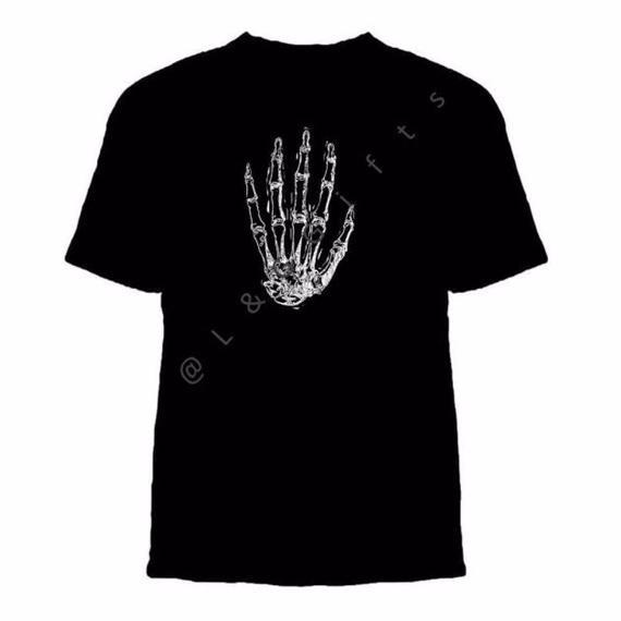 Human Anatomy Hand Tshirt - L&G Gifts and Goodies