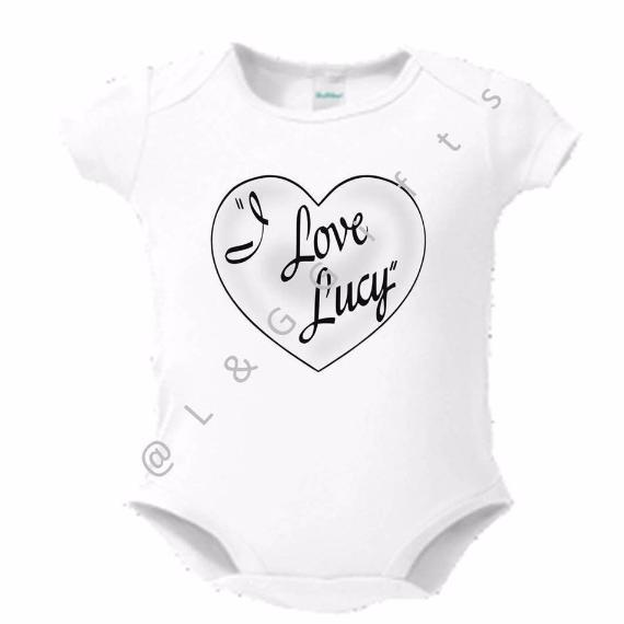 I love Lucy Baby Bodysuit or Toddler Tee - L&G Gifts and Goodies