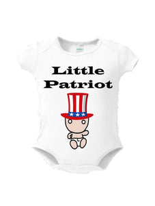 Little Patriot Baby Bodysuit or Toddler Tee - L&G Gifts and Goodies