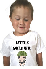 Little Soldier Baby Bodysuit or Toddler Tee - L&G Gifts and Goodies