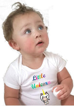 little unicorn baby bodysuit - L&G Gifts and Goodies