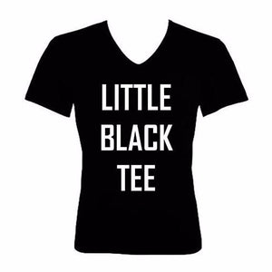 Little Black Tee - L&G Gifts and Goodies