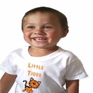 Little Tiger Baby Bodysuit or Toddler tshirt - L&G Gifts and Goodies