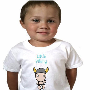 Little viking Baby Bodysuit or Toddler tshirt - L&G Gifts and Goodies