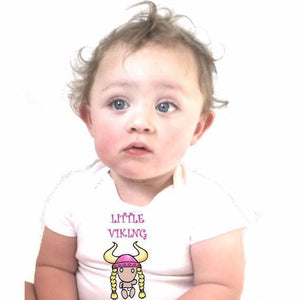 Little Viking Baby Girl Bodysuit - L&G Gifts and Goodies
