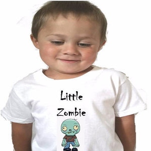 Little Zombie Baby Bodysuit or Toddler tee - L&G Gifts and Goodies