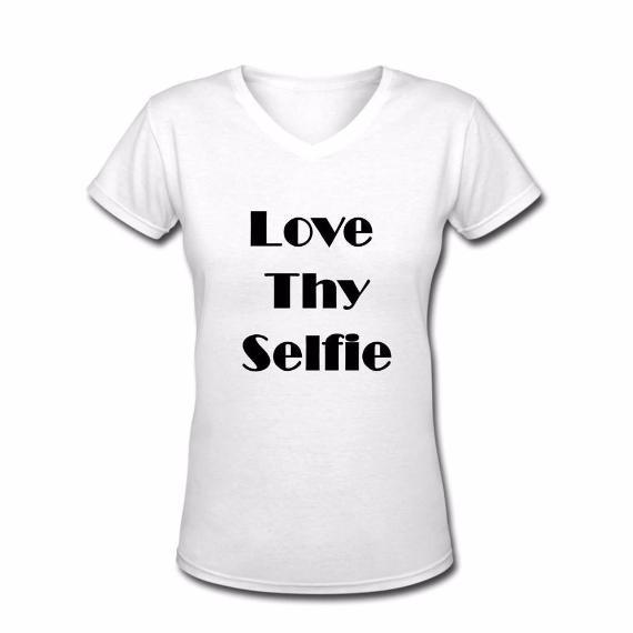 Love thy Selfie Tshirt - L&G Gifts and Goodies