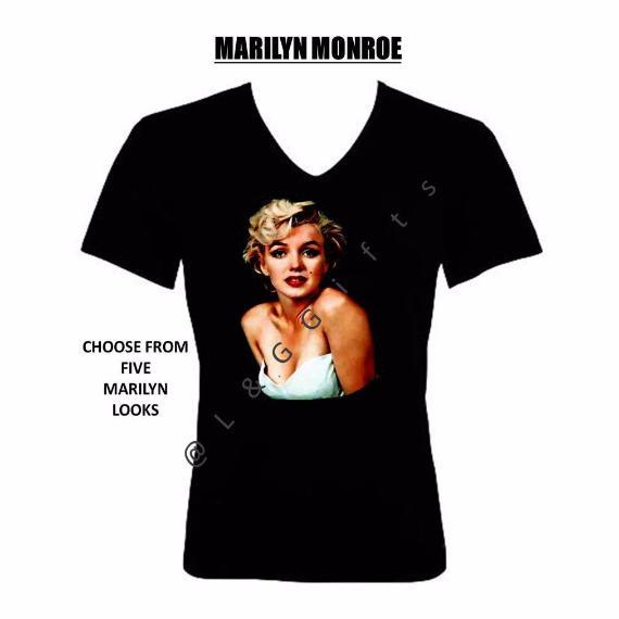 Marilyn Monroe Tshirt - L&G Gifts and Goodies