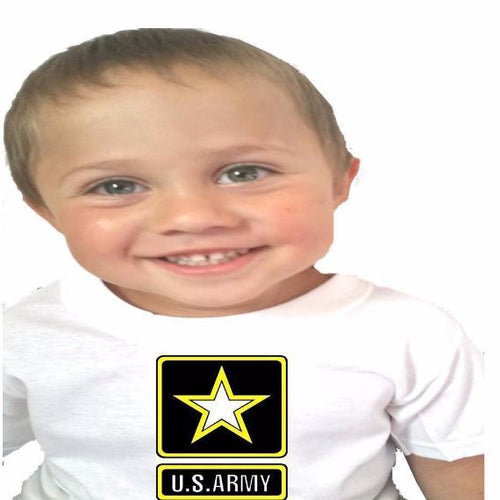 Military Baby Bodysuit or Toddler Tee - L&G Gifts and Goodies