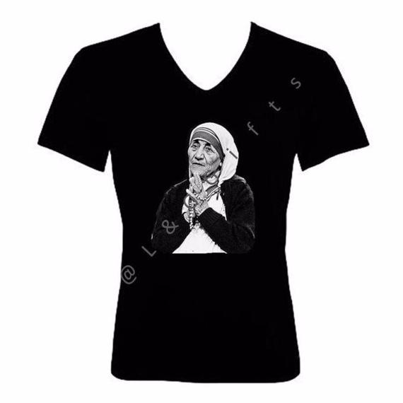 Mother Teresa Tshirt - L&G Gifts and Goodies