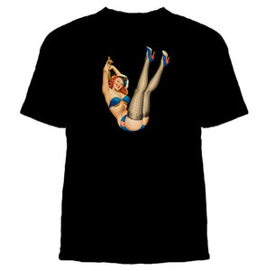 Pinup Girl Tshirt - L&G Gifts and Goodies