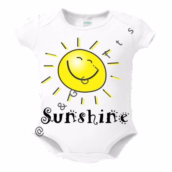 Summer Sunshine Baby Bodysuit - L&G Gifts and Goodies
