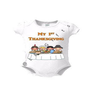 Thanksgiving Baby Bodysuit - L&G Gifts and Goodies