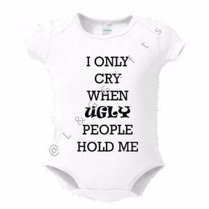 Ugly People Baby Bodysuit or Toddler Tees - L&G Gifts and Goodies