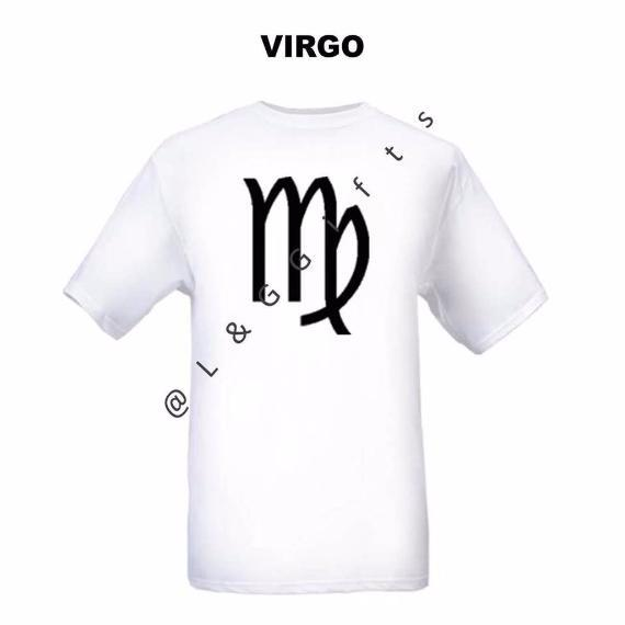 Virgo Zodiac Sign Tshirt - L&G Gifts and Goodies
