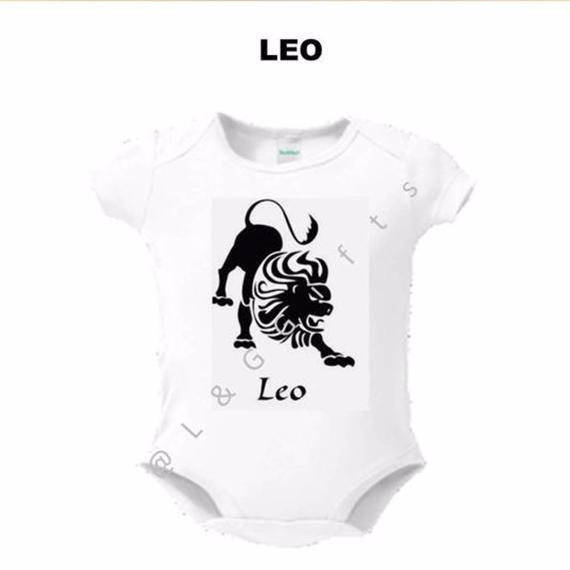 Zodiac Leo Sign Baby Bodysuit - L&G Gifts and Goodies