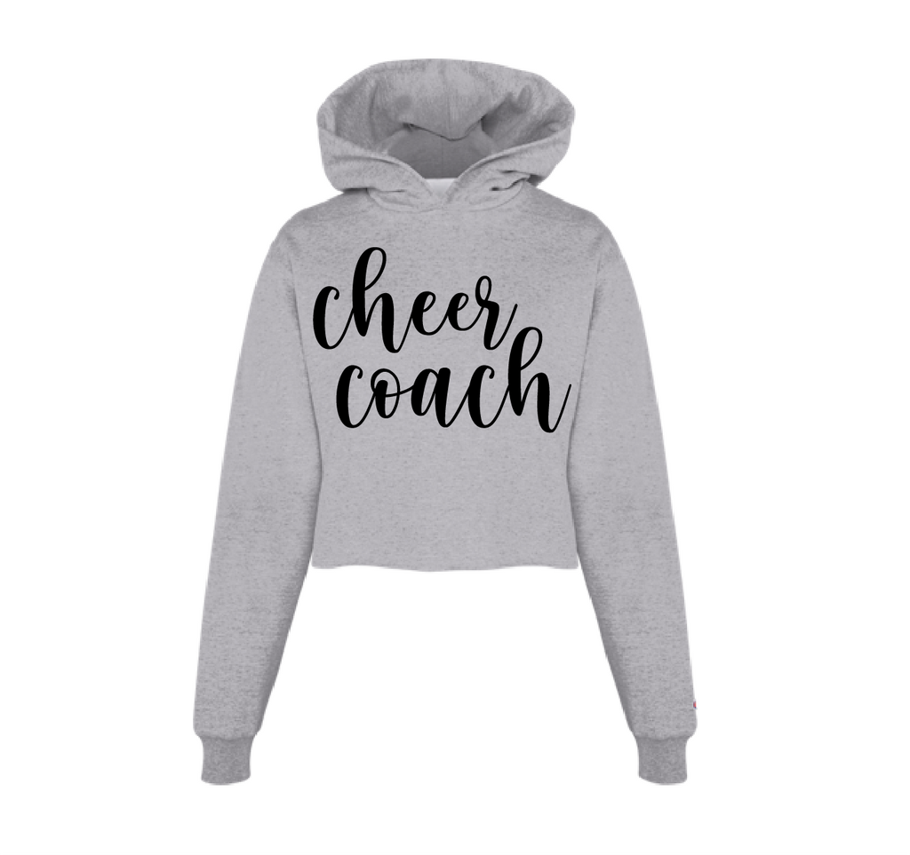 Cheer Coach Cropped Hoodie