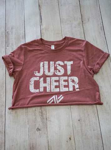 JUST CHEER Cropped T-Shirt