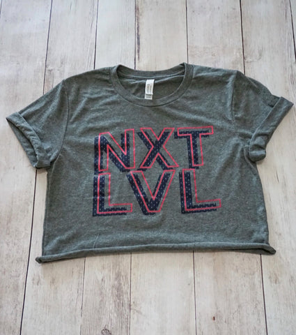 NXTLVL Cropped T-Shirt