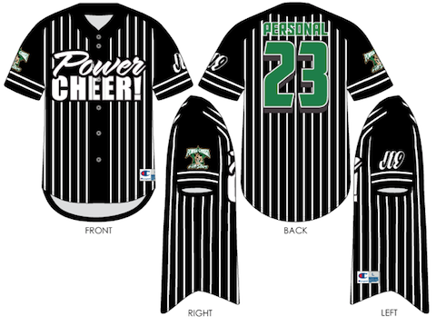 Power Cheer! 23 Travel Jersey