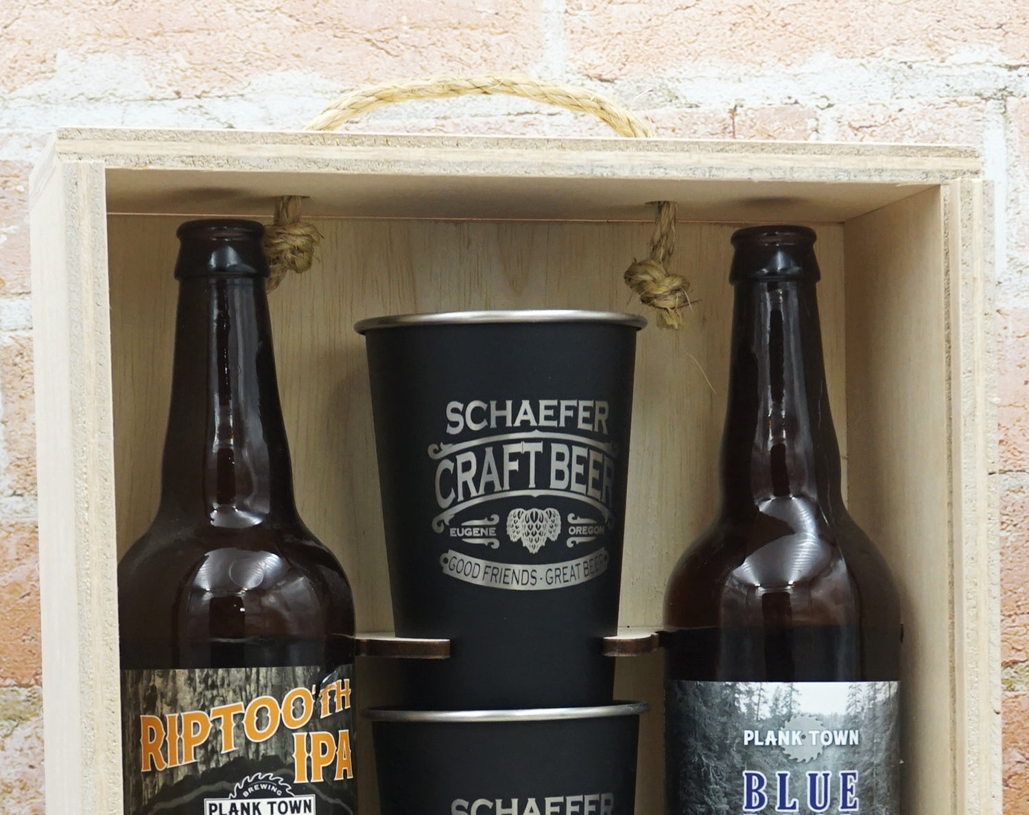 personalized beer gift box custom brew gear