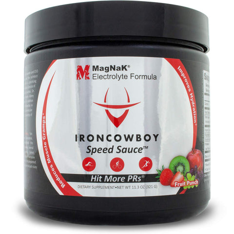 Speed Sauce Electrolyte Powder Sports Drink by Iron Cowboy - Fruit Punch Flavor