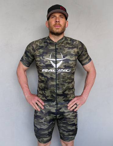 "IC Racing ""Camo"" Love The Pain Cycling Kit"