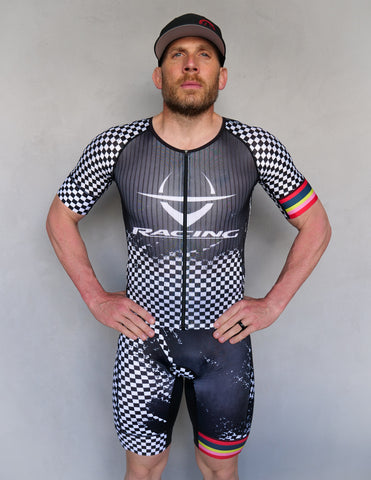 "Iron Cowboy ""Crazy Racing"" Aero Suit"