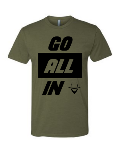 Go All In Tee (Green)