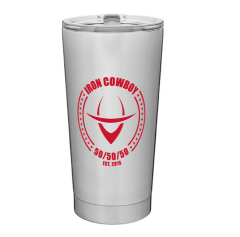Iron Cowboy Chrome Tumbler