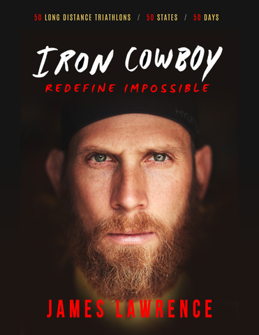 Iron Cowboy Redefine Impossible Paperback Book (signed)