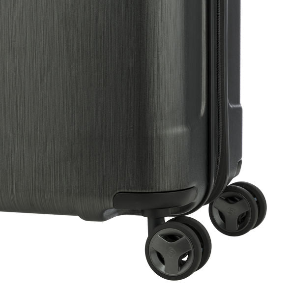 Evoa Spinner Carry On - Brushed Black 19""