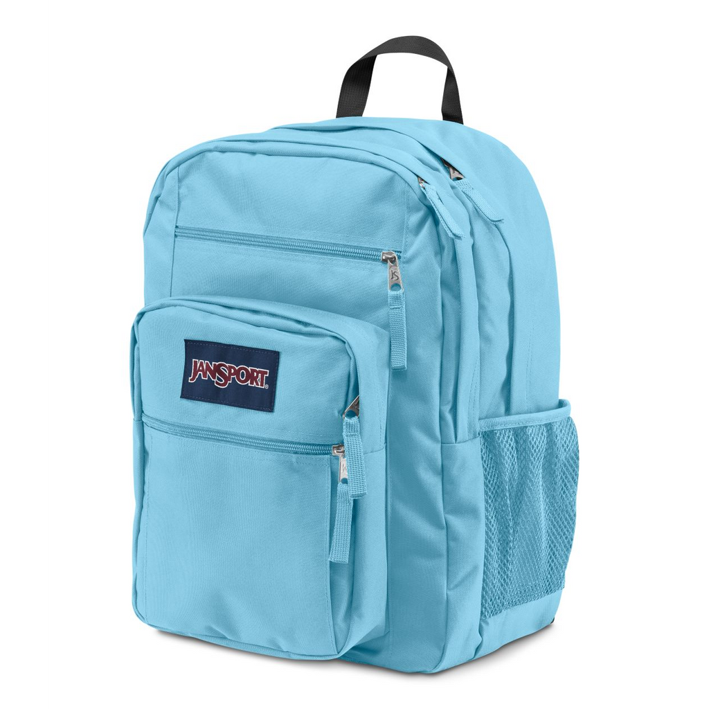 Big Student Backpack Blue Topaz