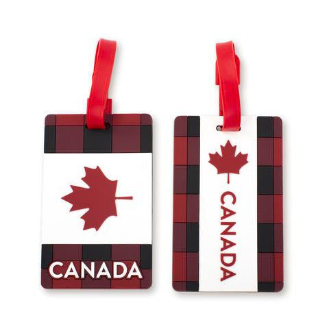 Canada 2pc Luggage Tags