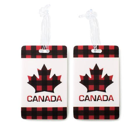 Canada Maple 2pc  Luggage Tags