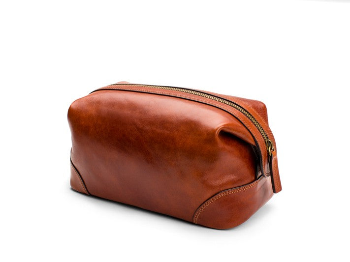Dolce Leather Shave Kit (Toiletry Pouch)