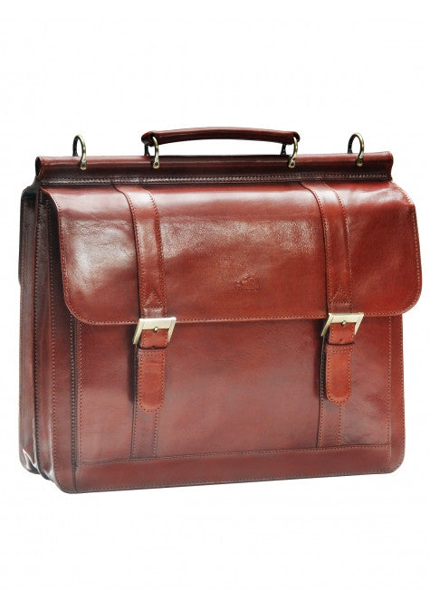 Signature Flap Briefcase