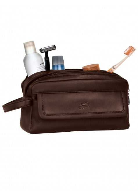 Colombian Double Compartment Toiletry Kit