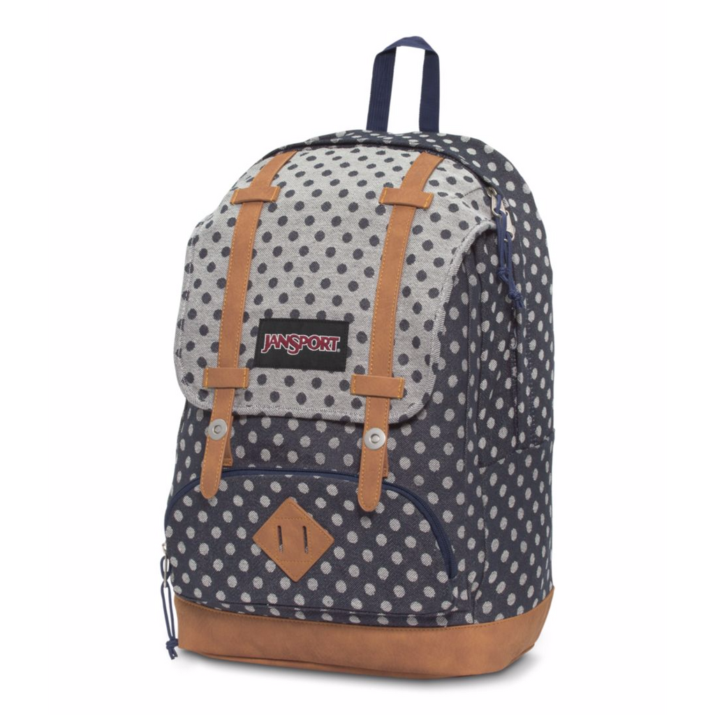 Baughman Backpack Navy Twiggy Dot
