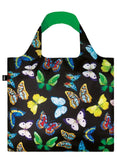 Juicy & Wild Butterflies Foldable Bag with Zip Pouch