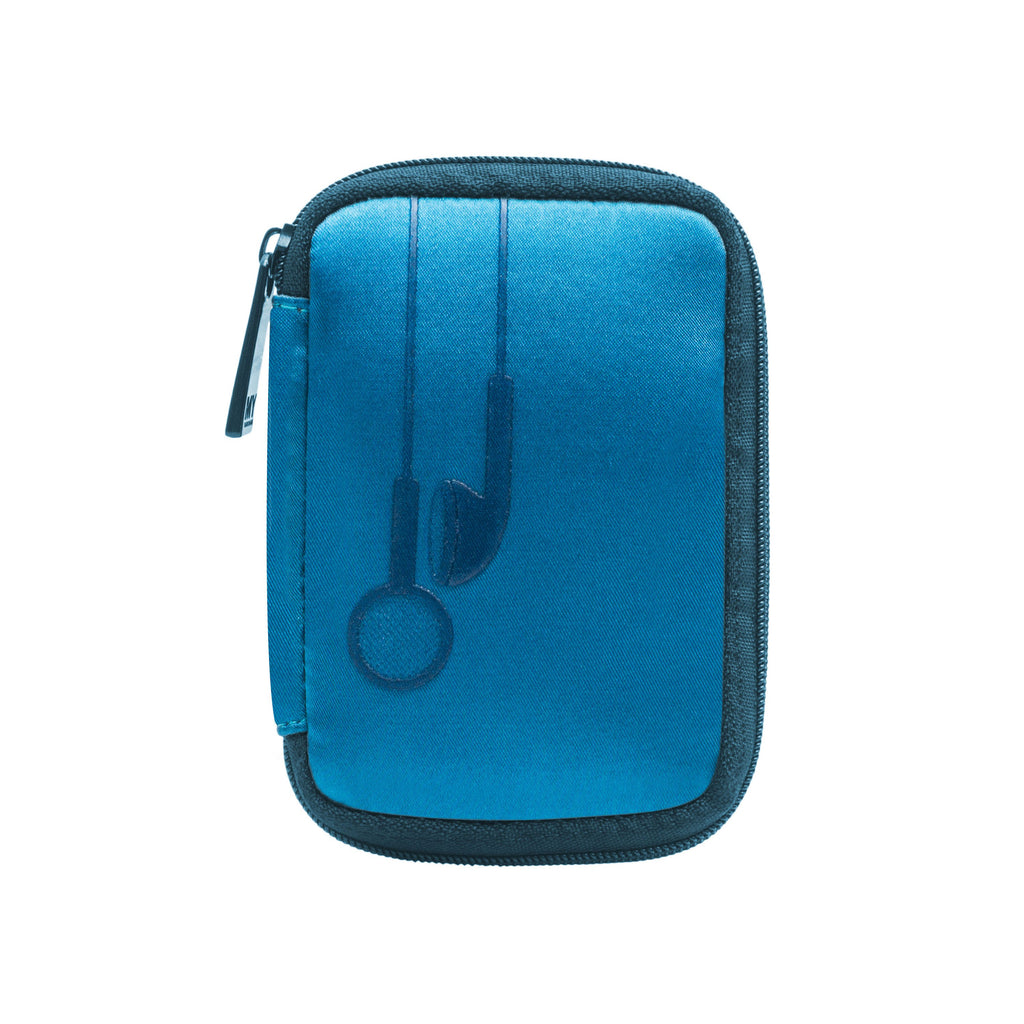 EAR BUD CASE - PLUG IN TEAL (Satin Finish)