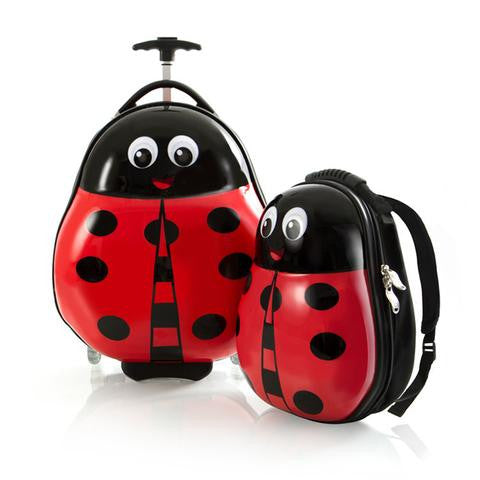 Travel Tots Lightweight 2 Piece Set - Lady Bug